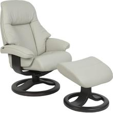 510 Alfa R Manual Small Recliner With Footstool