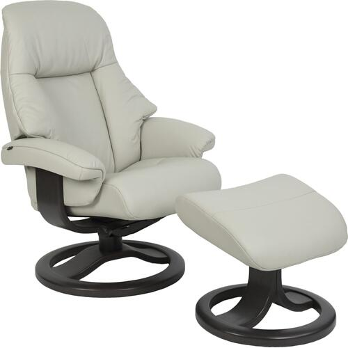 510 Alfa R Manual Large Recliner With Footstool