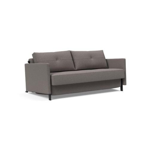 "CUBED 02 DELUXE 63""X79"", FRONT/MID SEAT/CUBED 02 DELUXE SOFA BACK, 63""X79""/CUBED DELUXE ARM RESTS, 1 SET/CUBED QUEEN SOFA LEGS FOR ARMS, MAT BLK"