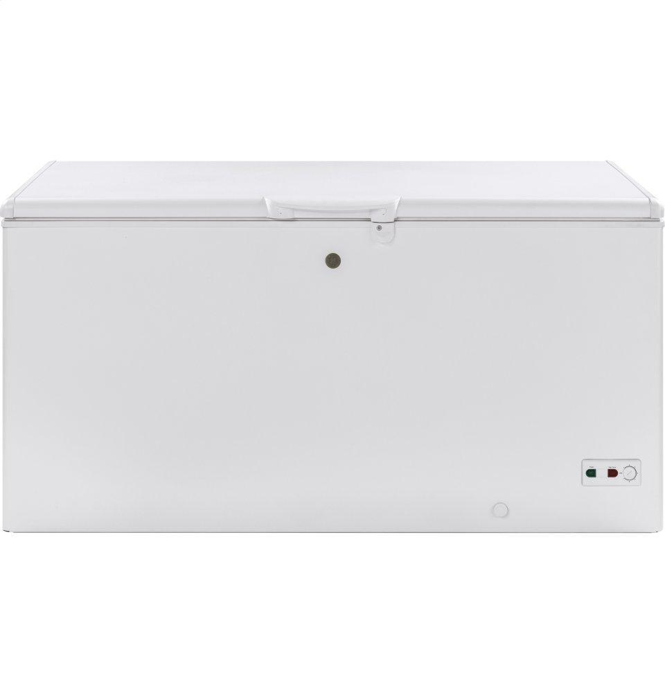 GEGe(r) 15.7 Cu. Ft. Manual Defrost Chest Freezer