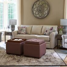See Details - Leah Queen Sleep Sofa in Smoke    (510-418-C169967,29043)