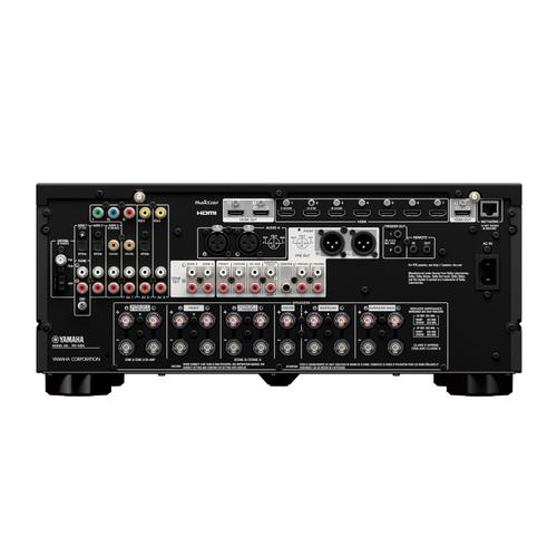 Yamaha - RX-A6ABL AVENTAGE 9.2-Channel AV Receiver with 8K HDMI and MusicCast