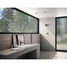 Chrome / Matte Black Single Handle Bathroom Faucet
