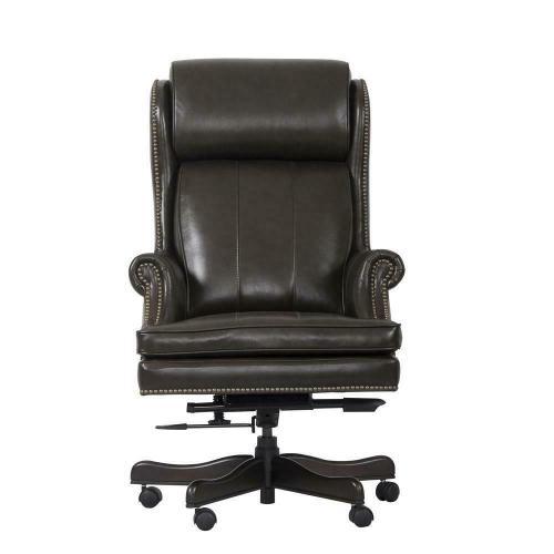 DC#105-PBR - DESK CHAIR Leather Desk Chair