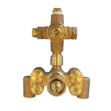 SMA Thermostatic Mixing Valve with Dual Volume Control - 1.75 GPM - No Color