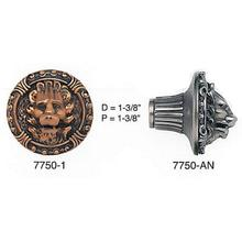 Lion In Winter Knob/ See Matching Back Plate 8315