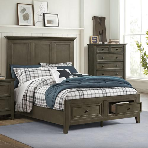 Intercon Furniture - San Mateo Youth Full Bed  Gray