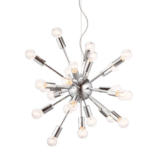 See Details - Pulsar Ceiling Lamp Chrome