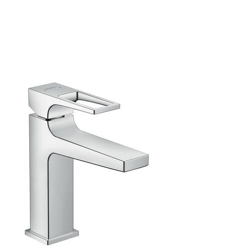 Chrome Single-Hole Faucet 110 with Loop Handle, 1.2 GPM