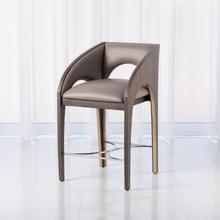Product Image - Arches Counter Stool-Grey Leather
