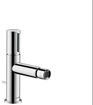 Chrome Bidet mixer Select with pop-up waste set Product Image