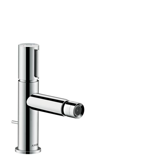 Chrome Bidet mixer Select with pop-up waste set
