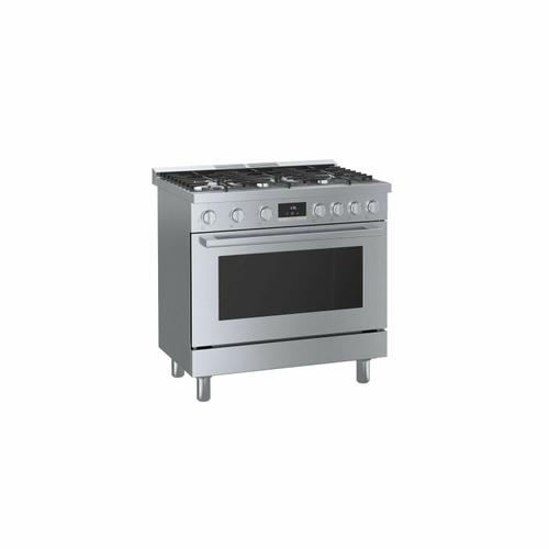800 Series Gas Freestanding Range 36'' Stainless Steel HGS8655UC