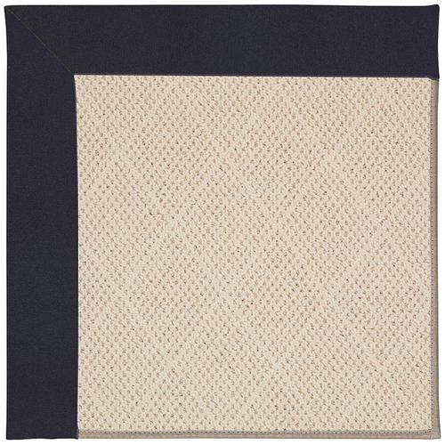 Creative Concepts-White Wicker Canvas Navy Machine Tufted Rugs