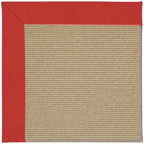 Capel Rugs - Creative Concepts-Sisal Dupione Crimson - Rectangle - 10' x 14'