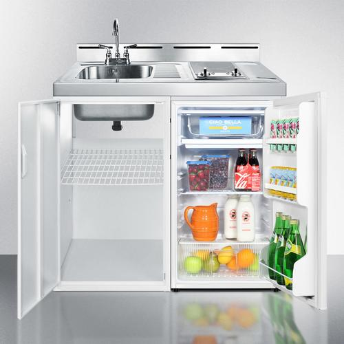 "39"" Wide All-in-one Kitchenette"