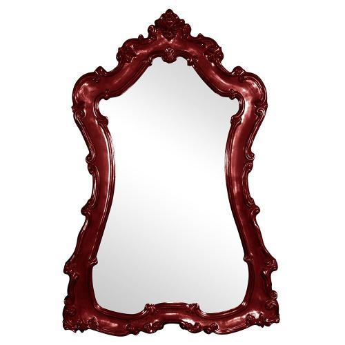 Howard Elliott - Lorelei Mirror - Glossy Burgundy