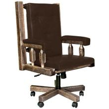 See Details - Homestead Collection Office Chair, Stain and Lacquer Finish