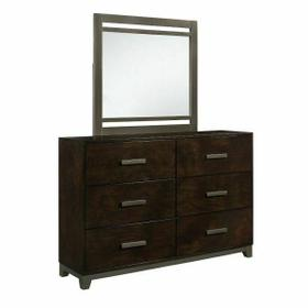ACME Charleen Mirror - 26684 - Walnut