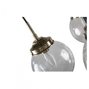 Stella Floor Lamp/Metal+Glass/Polished Brass+Matte Black/19.7*19.7*69