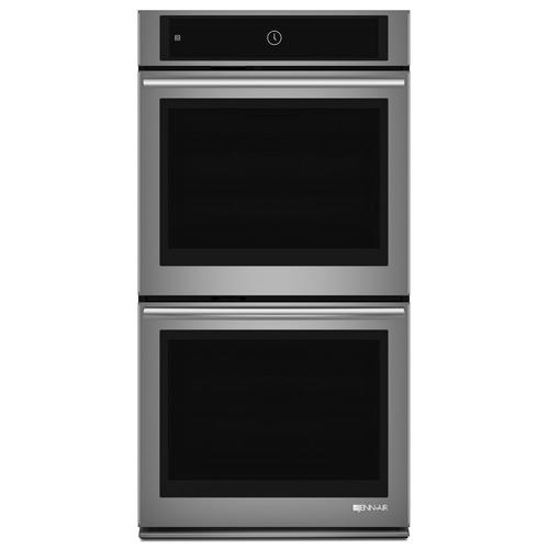 "Euro-Style 27"" Double Wall Oven with Upper MultiMode® Convection System Stainless Steel"