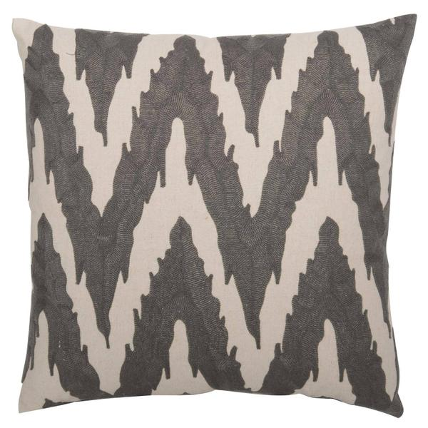 """See Details - Luxe Pillows Embroidered Flame Stitch (21.5"""" x 21.5"""")"""