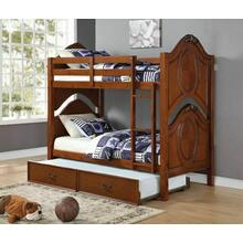 ACME Classique Twin/Twin Bunk Bed - 37005 - Cherry