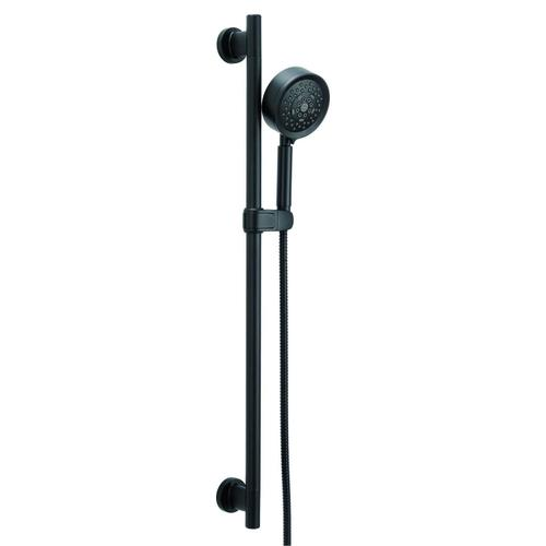 """Chrome Versa 30"""" Slide Bar Assembly with Parma® 5-Function Handshower, 1.75gpm"""