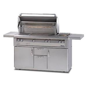 """Alfresco - 56"""" Deluxe built-in grill with Sear Zone"""