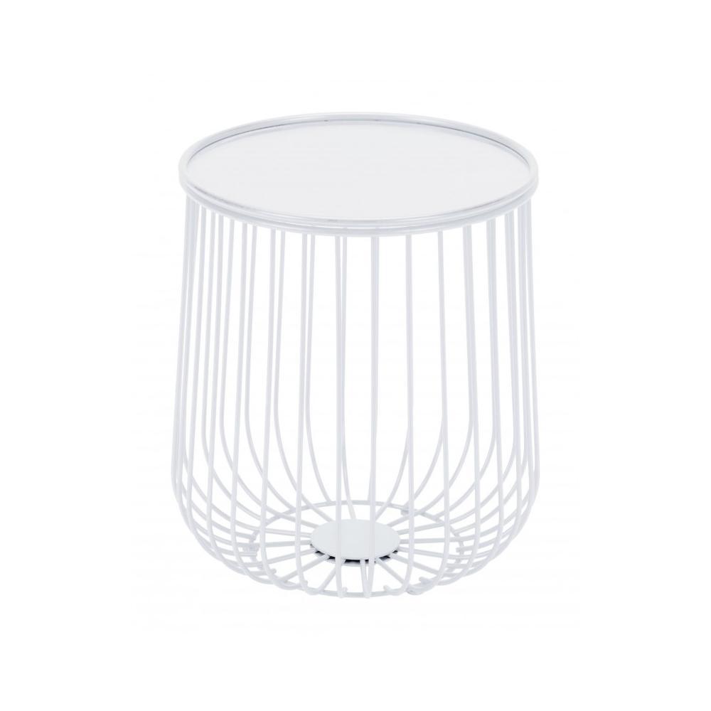 Gilbert Side Table White