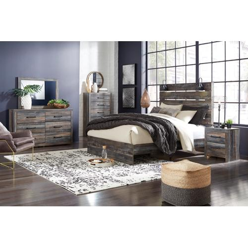 Drystan Queen Panel Bed Multi