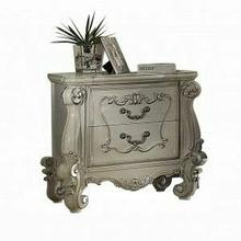 ACME Versailles Nightstand - 21133 - Bone White