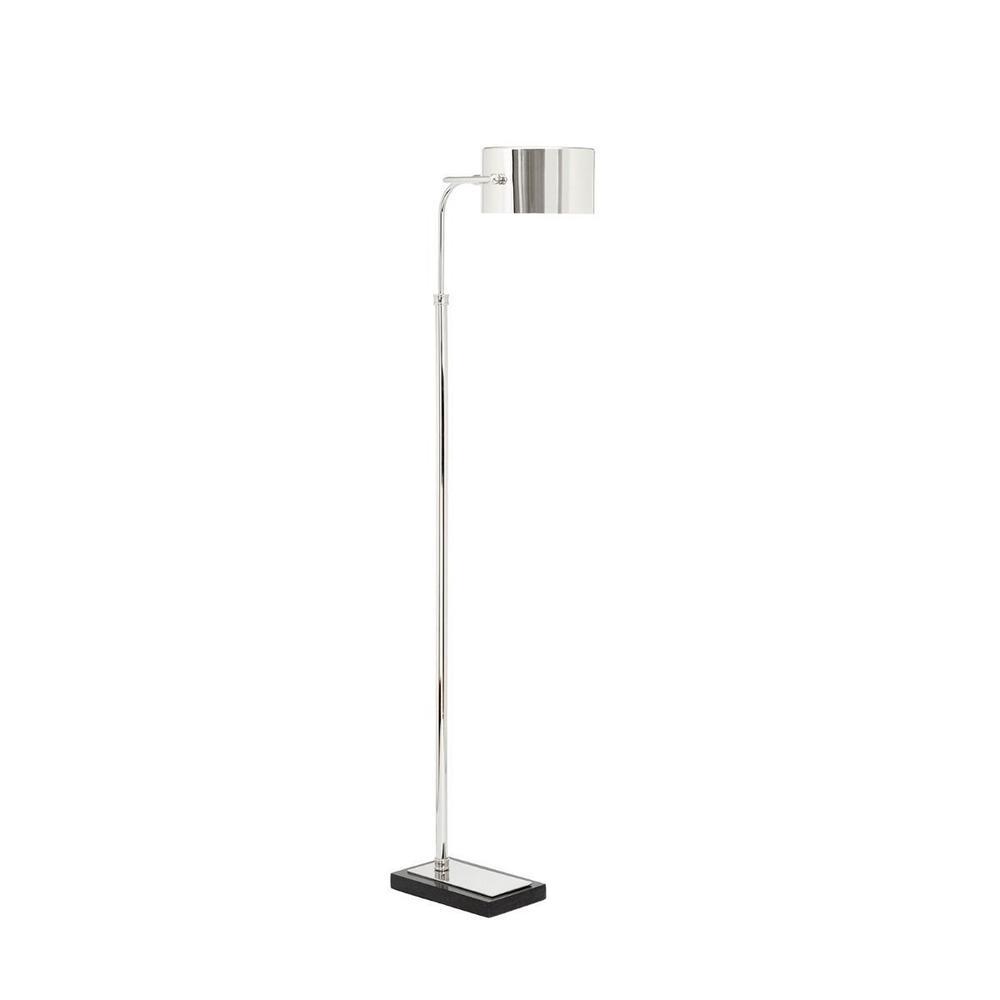 Enzo Floor Lamp, Nickel