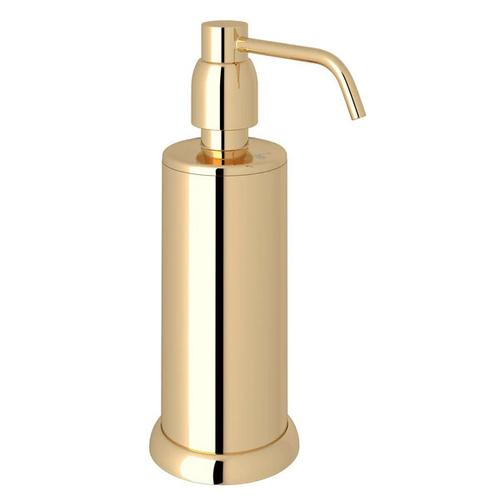 Holborn Free Standing Soap Dispenser - English Gold