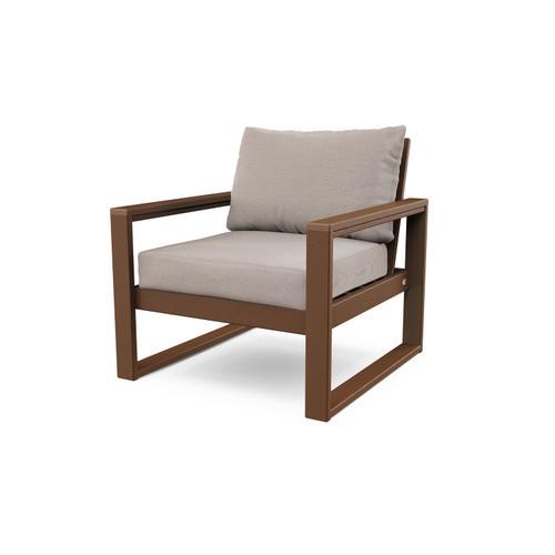 Teak & Dune Burlap EDGE Club Chair