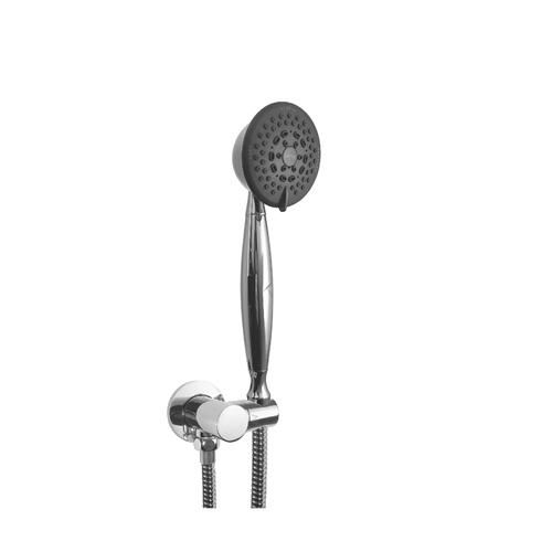 Multifunction Hand Shower With Adjustable Bracket and Outlet in Oil Rubbed Bronze