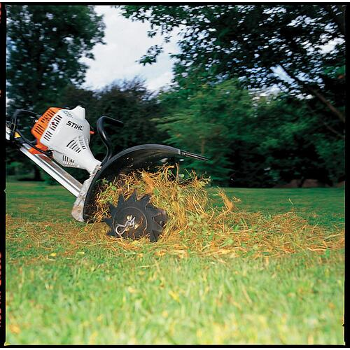 Stihl - This STIHL YARD BOSS® lawn aerator attachment helps breathe new life into your lawn.