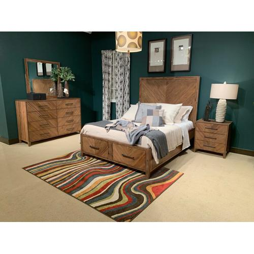 Jofran - Eloquence King Footboard With Drawers