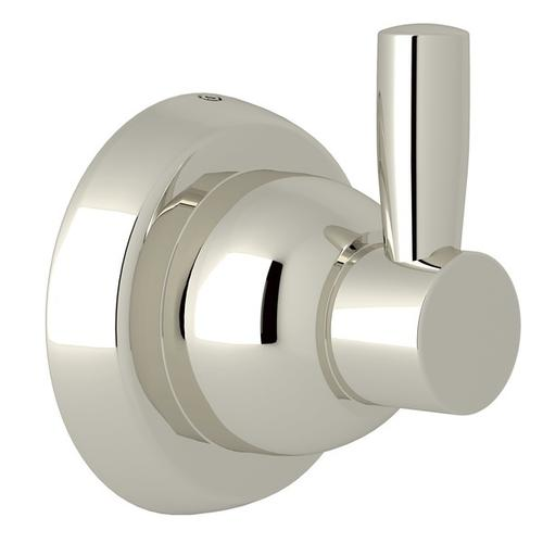 Polished Nickel Perrin & Rowe Holborn Wall Mount Single Robe Hook