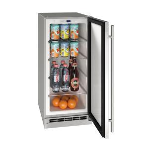 "U-Line15"" Refrigerator With Stainless Solid Finish (115 V/60 Hz Volts /60 Hz Hz)"