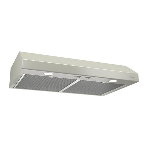 Broan® 30-Inch Convertible Under-Cabinet Range Hood, Bisque
