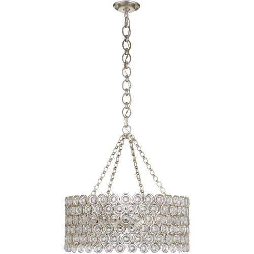 AERIN Lesina 16 Light 31 inch Burnished Silver Leaf Chandelier Ceiling Light