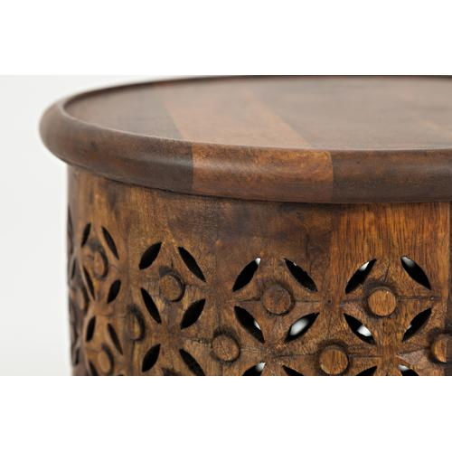 Global Archive Drum Table - Mango