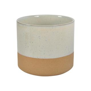 See Details - Rustica Planter 5in White