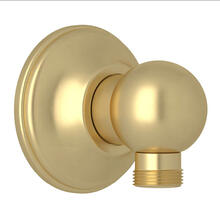 Handshower Drop Ell - Satin Unlacquered Brass