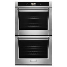 """Smart Oven+ 30"""" Double Oven with Powered Attachments Stainless Steel"""