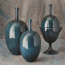 View Product - Ovoid Vase-Celestial-Lg