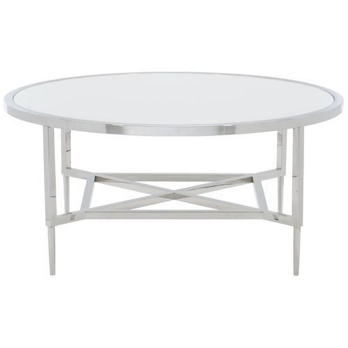 Portola Metal Round Cocktail Table
