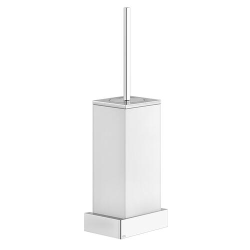 Gessi - White wall-mounted toilet brush holder