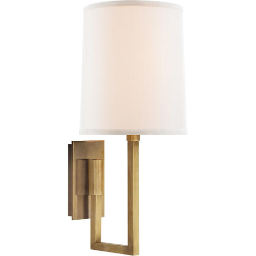 Barbara Barry Aspect 1 Light 6 inch Soft Brass Decorative Wall Light